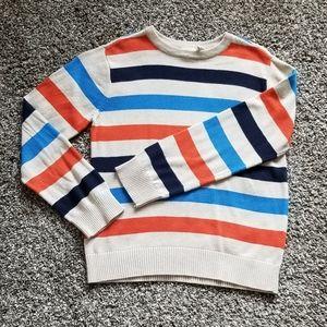 🌹 Children's Place Tan Striped Multicolor Sweater